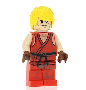 Video Games Street Fighter Minifigure: Ken (VG-24)