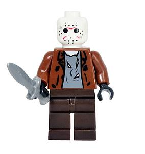 Movies Friday the 13th Minifigure: Jason Voorhees (MO-18)