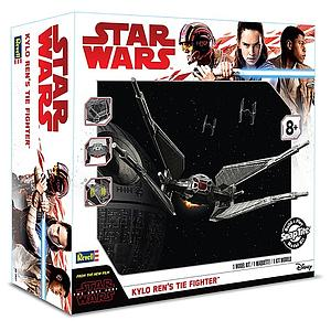 Revell Star Wars SnapTite Model Kit 1/70 Kylo Ren's Tie Fighter (RMX1647)