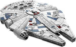 Revell Star Wars SnapTite Model Kit 1/164 Millennium Falcon (RMX1668)