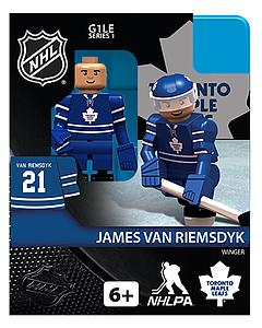 NHL Hockey Minifigures: James van Riemsdyk (Toronto Maple Leafs)