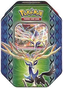 Pokemon Trading Card Game Best of Tins: Xerneas EX