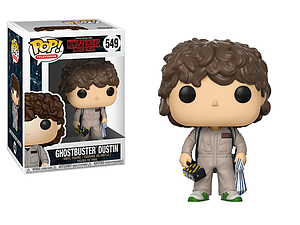Pop! Television Stranger Things 2 Vinyl Figure Ghostbuster Dustin #549 (Vaulted)