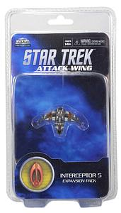 Star Trek: Attack Wing Miniatures Game Wave 5 - Interceptor 5 (Expansion Pack)