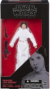 "Star Wars The Black Series 6"" Action Figure Princess Leia Organa"