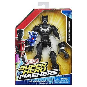 "Marvel Super Hero Mashers 6"" Action Figure Black Panther"