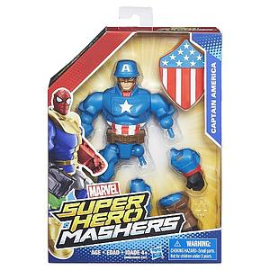 "Marvel Super Hero Mashers 6"" Action Figure Captain America"