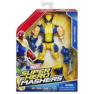 "Marvel Super Hero Mashers 6"" Action Figure Wolverine"