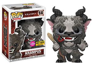 Pop! Holidays Krampus Vinyl Figure Krampus (Flocked) #14 Hot Topic Exclusive