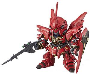 Gundam SD EX-Standard Model Kit: #013 MSN-06S Sinanju