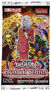 Yugioh Trading Card Game: Legendary Duelists - Ancient Millenium Booster Pack