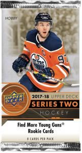 2017-18 Upper Deck Series Two Hockey Hobby Booster Pack