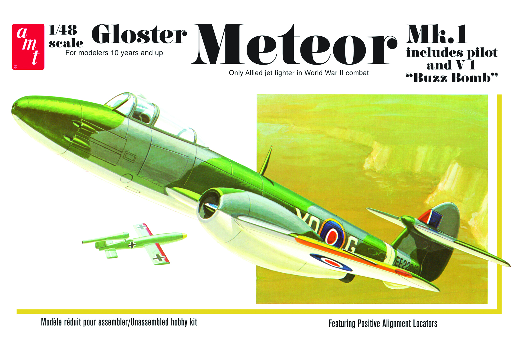 Gloster Meteor MK-1 Fighter Jet (825)