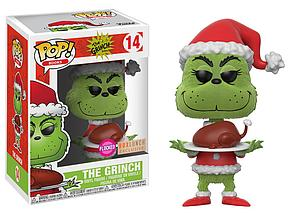 Pop! Holidays Dr. Seuss the Movie Vinyl Figure The Grinch #14 BoxLunch Exclusive