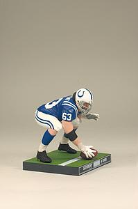 NFL Sportspicks Series 24: Jeff Saturday (Indianapolis Colts) Collector Bronze Level (#/3000)