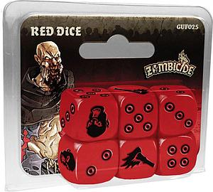 Zombicide: Red Special Dice