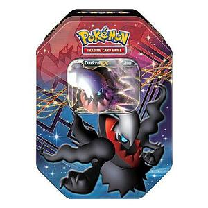 Pokemon Trading Card Game Black & White EX Fall Tins 2012: Darkrai EX