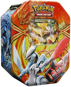 Pokemon Trading Card Game Black & White EX Power Spring Tins 2013: White Kyurem-EX