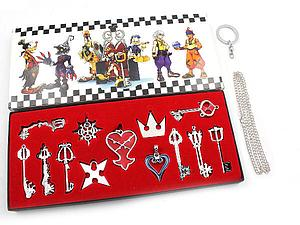 Kingdom Hearts Box Necklace Set (13-Piece)