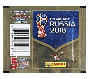 2018 World Cup Soccer - Sticker Pack