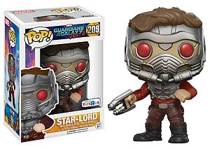 Pop! Marvel Guardians of the Galaxy (Vol. 2) Vinyl Bobble-Head Star-Lord (Action Pose) #209 Toys R Us Exclusive