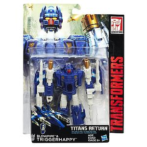 Transformers Generations Titans Return Deluxe Class: Triggerhappy & Blowpipe