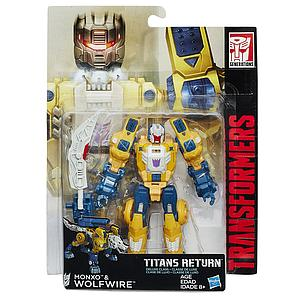 Transformers Generations Titans Return Deluxe Class: Wolfwire & Monxo