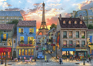 Puzzle: Street of Paris (4910)