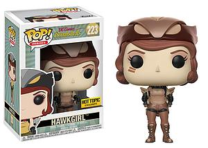 Pop! Heroes DC Bombshells Vinyl Figure Hawkgirl (Sepia) #223 Hot Topic Exclusive
