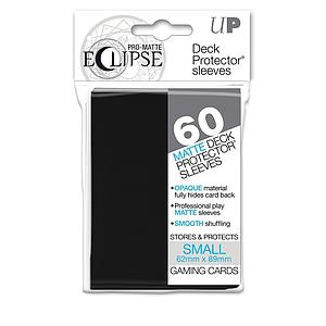 Card Sleeves 60-pack Eclipse Pro-Matte Small Size: Black