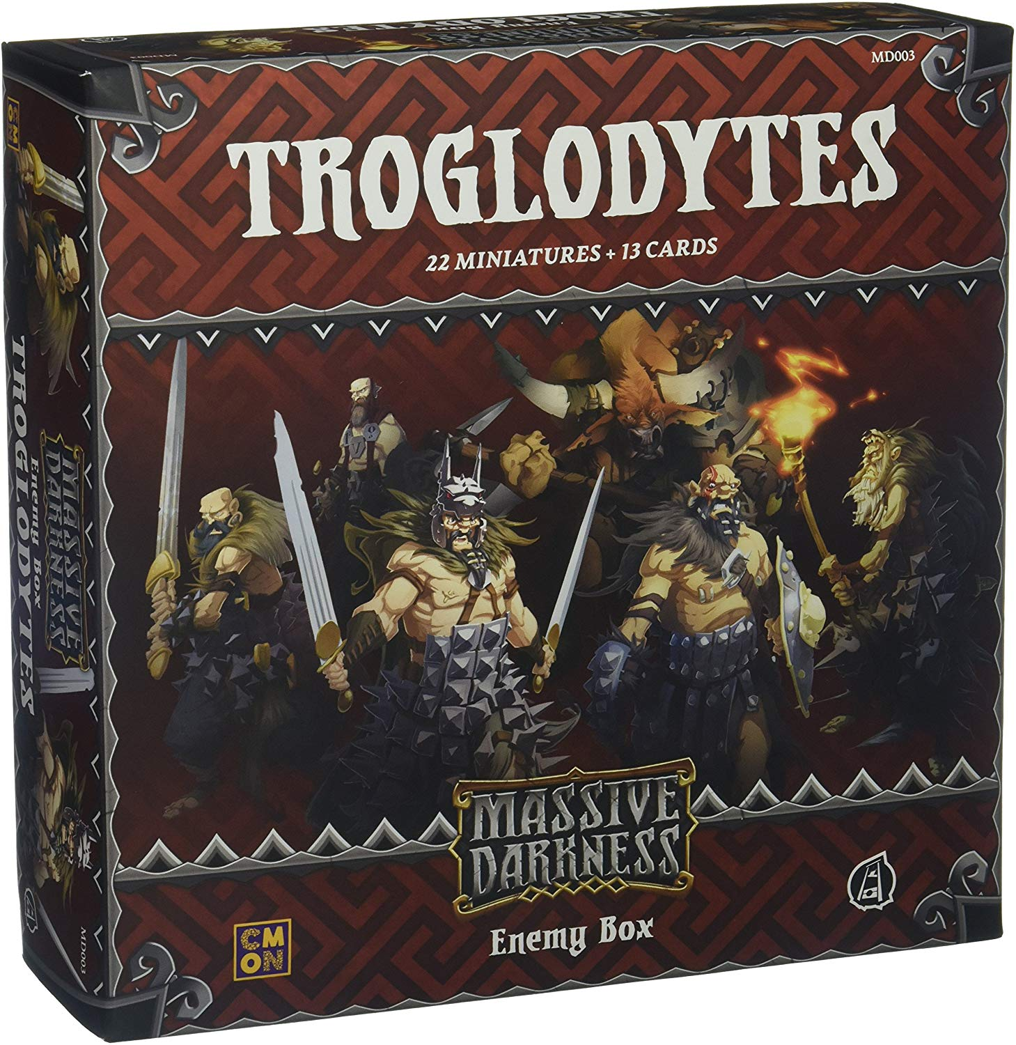 Massive Darkness: Troglodytes - Enemy Box
