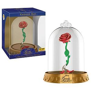 Pop! Disney Beauty & the Beast Vinyl Figure Enchanted Rose Dome Hot Topic Exclusive