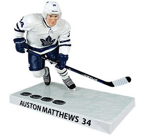 NHL Auston Matthews (Toronto Maple Leafs) 4 Goals 2017-2018