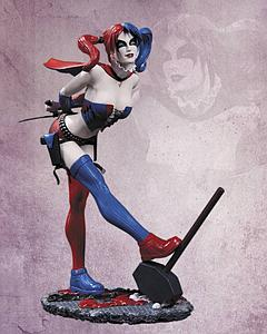 DC Direct DC Cover Girls 9 Inch New 52 Harley Quinn