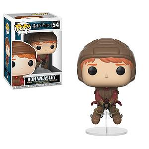 Pop! Harry Potter Vinyl Figure Ron Weasley (on Broom) #54