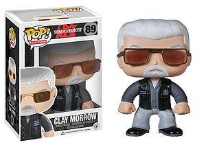 Pop! Television Sons of Anarchy Vinyl Figure Clay Morrow #89 (Vaulted)