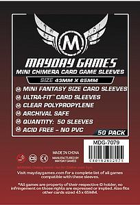 Mini Premium Card Sleeves 50-pack: Chimera