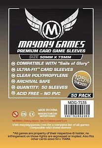 Sails of Glory Card Sleeves (50mm x 75mm)