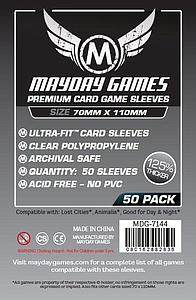 Premium Card Sleeves 50-pack: Lost Cities