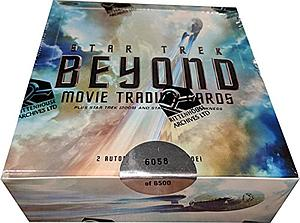 Star Trek Beyond Movie Trading Cards