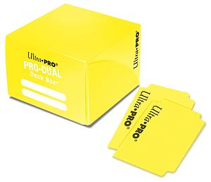 Deck Box Pro-Dual 180ct: Yellow
