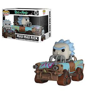 Pop! Rides Animation Rick & Morty Vinyl Figure Mad Max Rick #37
