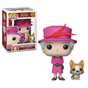 Pop! Royals Vinyl Figure Queen Elizabeth II (with Corgi) #01