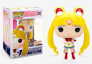 Pop! Animation Sailor Moon Vinyl Figure Super Sailor Moon #331 BoxLunch Exclusive