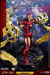 Iron Man Mark IV Diecast with Suit-Up Gantry (MMS462-D22)