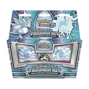 Pokemon Sun & Moon Trainer Kit: Alolan Sandslash & Alolan Ninetales