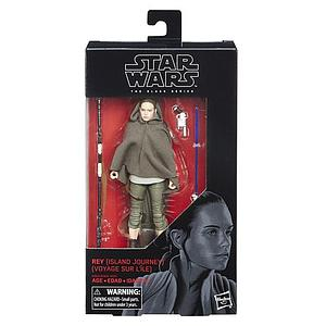 "Star Wars The Black Series 6"" Action Figure Rey (Island Journey) #58"