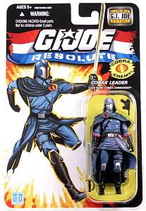 "G.I. Joe Resolute 3 3/4"": Cobra Leader (Cobra Commander)"