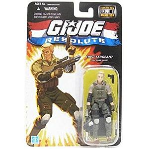"G.I. Joe Resolute 3 3/4"": First Sergeant Duke"