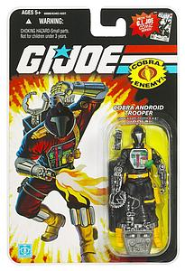 "G.I. Joe 25th Anniversary 3 3/4"": Cobra Android Trooper Cobra B.A.T."